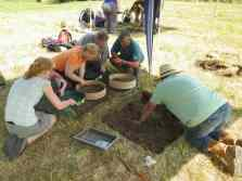 sieving for treasure
