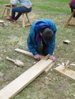Freddie marrying up the lap joint