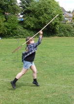 The Atlatl in use