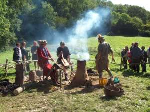 Ancient Somerset Smelting...