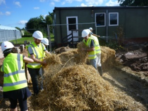 Getting stuck into the straw