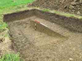 enclosure ditch bottomed