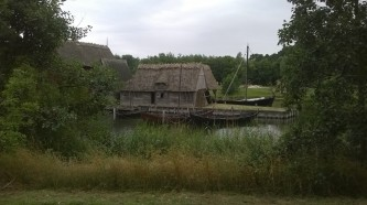 Medieval houses and quay