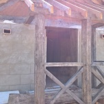 rendering the porch end