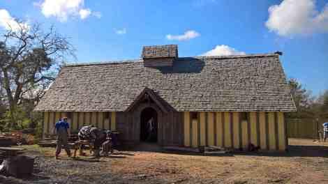 Saxon longhall