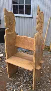 Gokstad chair unpinned
