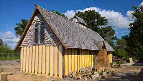yellow gable when dry