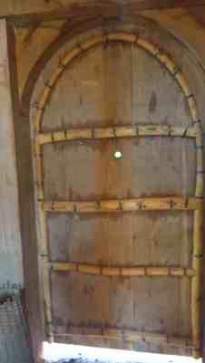spy hole to detect marauding Vikings